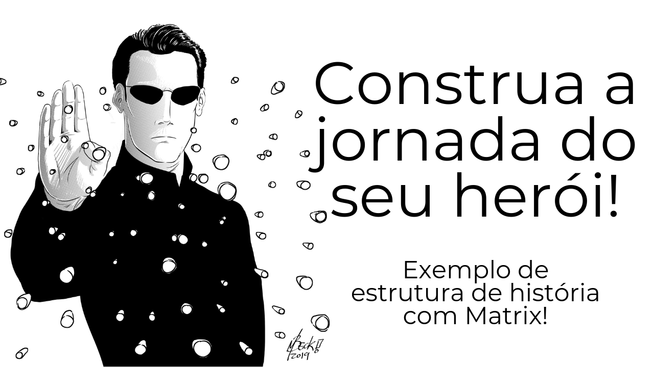 jornada do herói de matrix