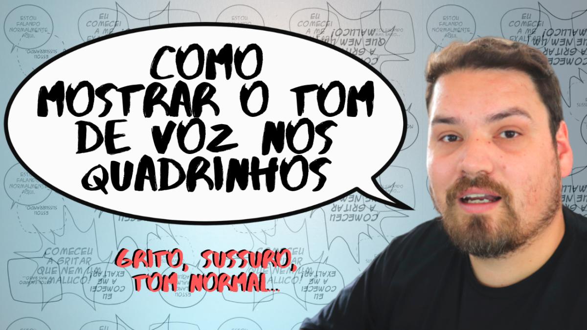 Tom de voz nos quadrinhos