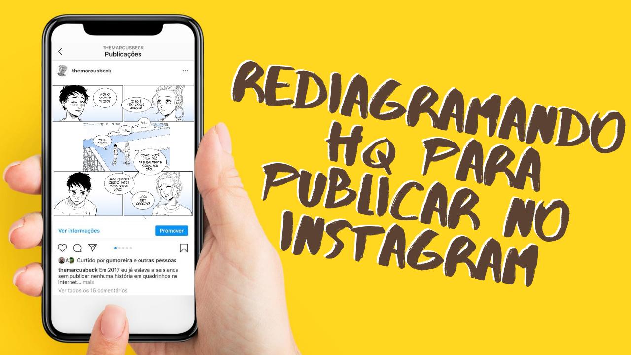 Fazendo HQ para publicar no instagram